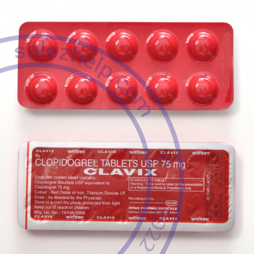 Clopidogrel photo